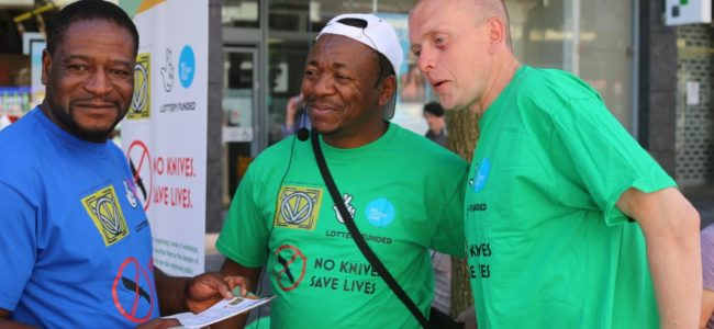 No Knives, Saves Lives Campaign Kicks off