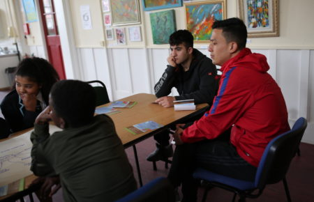 Young people Learn about Justice system