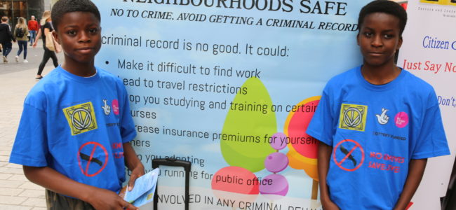 Liverpool Church Street Heats up with Crime prevention Campaig